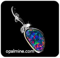 Opal Pendant 4092