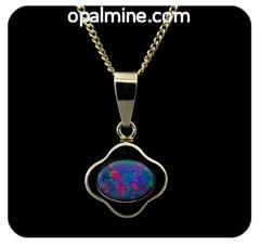Opal Pendant 4099