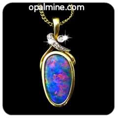 Opal Pendant 4100