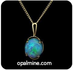 Opal Pendant 4102