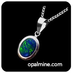 Opal Pendant 4111