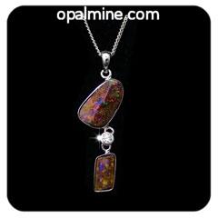 Opal pendant 4135-original price $200