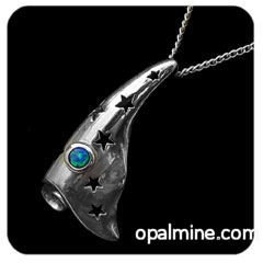 Opal Pendant 4149-original price $100