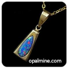 Opal Pendant 4160