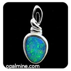Opal Pendant 4169