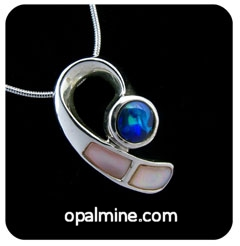 Opal Pendant 4175-original price $100