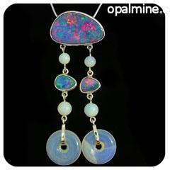 Opal Pendant 4181