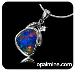 Opal Pendant 4196