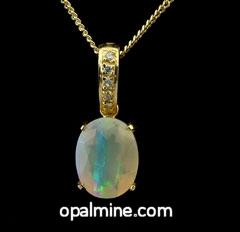 Opal Pendant 4200