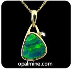 Opal Pendant 4210