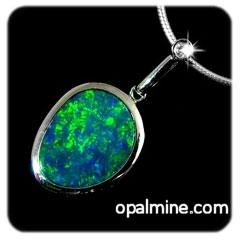 Opal Pendant 4215