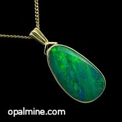 Opal Pendant 4218