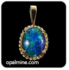 Opal Pendant 4228