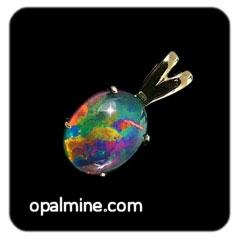 Opal Pendant 4231