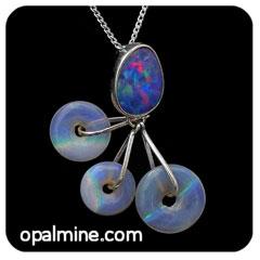 Opal Pendant 4246