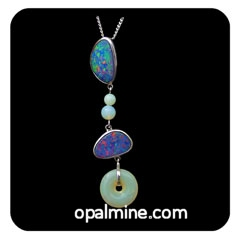 Opal Pendant 4247