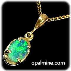 Opal Pendant 4276