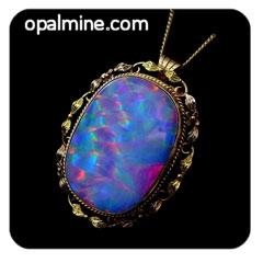Opal Pendant 4288