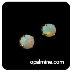 Opal Earrings 6028