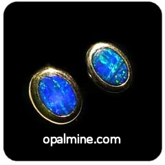 Opal Earrings 6029