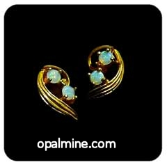 Opal Earrings 6032