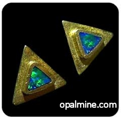 Opal Earrings 6070