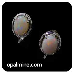 Opal Earrings 6095