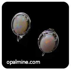 Opal Earrings 6095