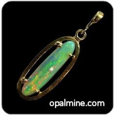 Opal Pendant 4252