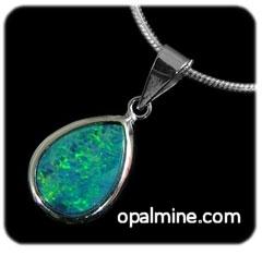 Opal Pendant 4269