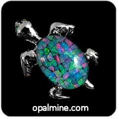 Opal Brooch 6700