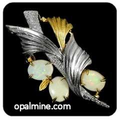 Opal Brooch 6706