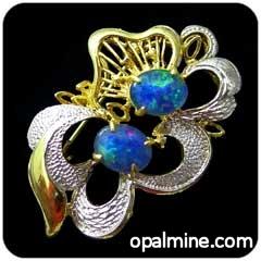 Opal Brooch 6710