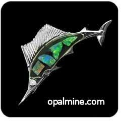 Opal Brooch 6711