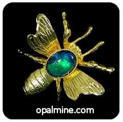 Opal Brooch 6715