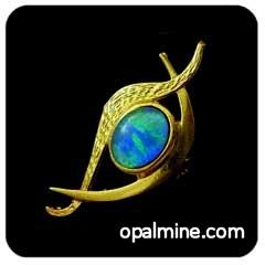 Opal Brooch 6722
