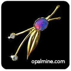 Opal Brooch 6724