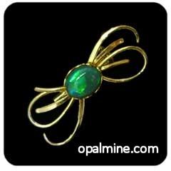 Opal Brooch 6725