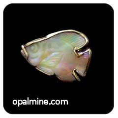 Opal Brooch 6730