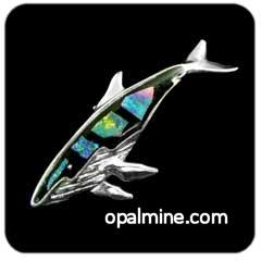 Opal Brooch 6732