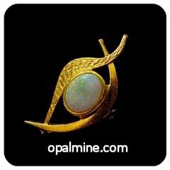 Opal Brooch 6735