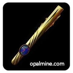 opal tie bar