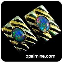 Opal Cufflinks