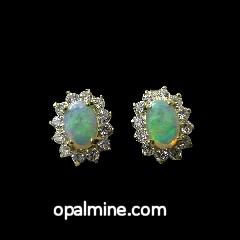 Opal Earrings 6026