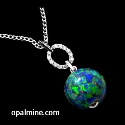 Opal Pendant 4140