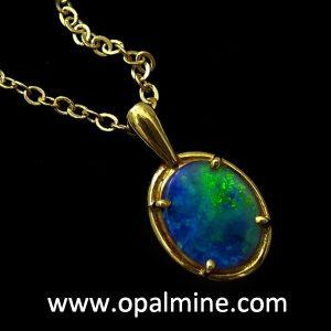 Opal Pendant 4177