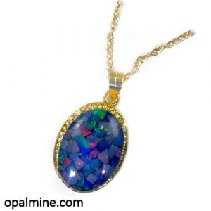 Opal Pendant 4336-test order only
