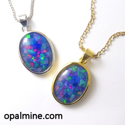 Opal Pendant 4336a