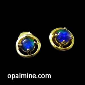Opal earrings 6020