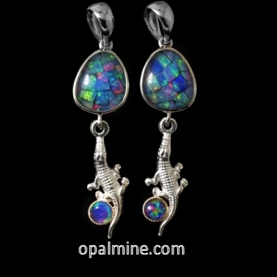 Opal Earrings 6719